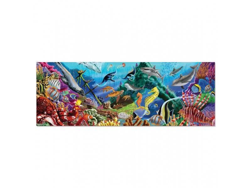 Melissa & Doug 18907 Vloerpuzzel onderwaterparadijs
