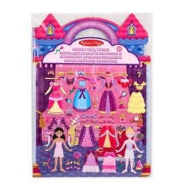 Melissa and Doug 19100, Herbruikbare prinsessen stickers