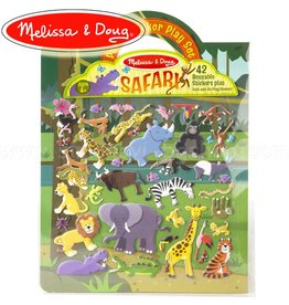 Melissa & Doug Melissa and Doug 19106, Herbruikbare safari stickers