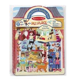 Melissa & Doug 19429 activiteitenboek stickers huisdieren