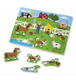 Melissa & Doug Melissa and Doug 10738, Sound Puzzel Old MacDonald