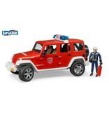 Bruder Jeep Wrangler Unlimited Rubicon Brandweer