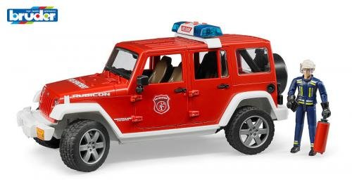 Bruder Jeep Wrangler Unlimited Rubicon Brandweer