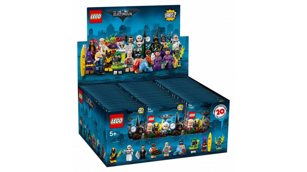 Lego LEGO Minifiguren Batman Serie 2 display 60 stuks