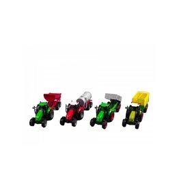 Kids Globe Kids Globe tractor met aanhanger 25cm met L/G