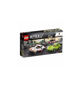 Lego LEGO Speed Champions Porsche 911 RSR en 911 Turbo 3.0