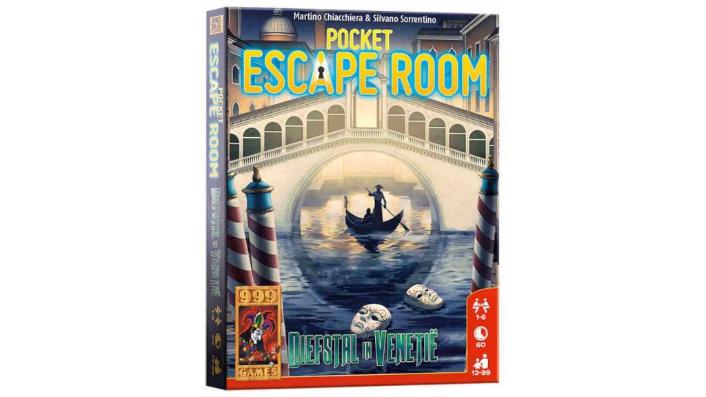 999 Games Pocket Escape Room: Diefstal in Venetie