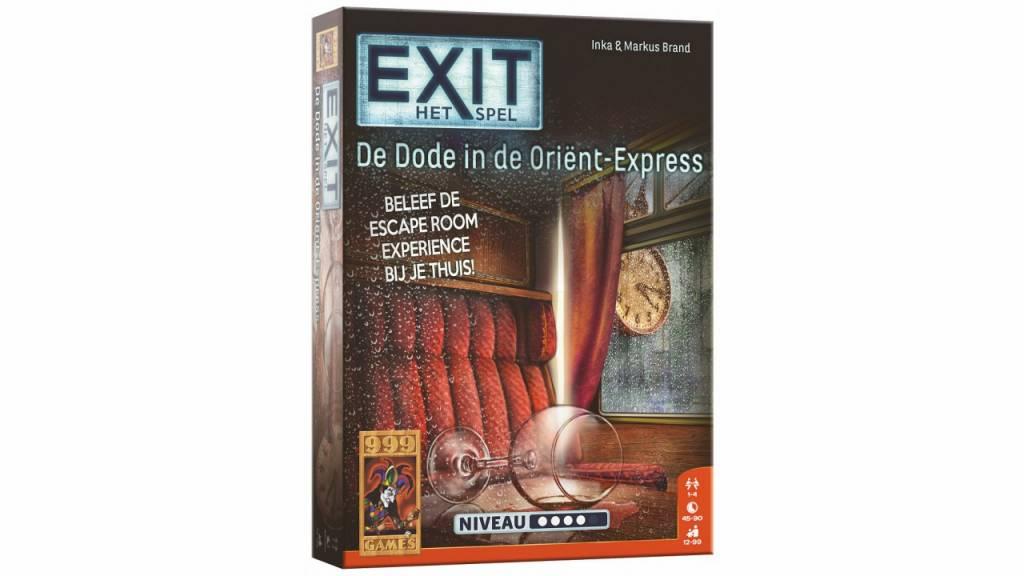 999 Games EXIT - De dode in de Orient Express