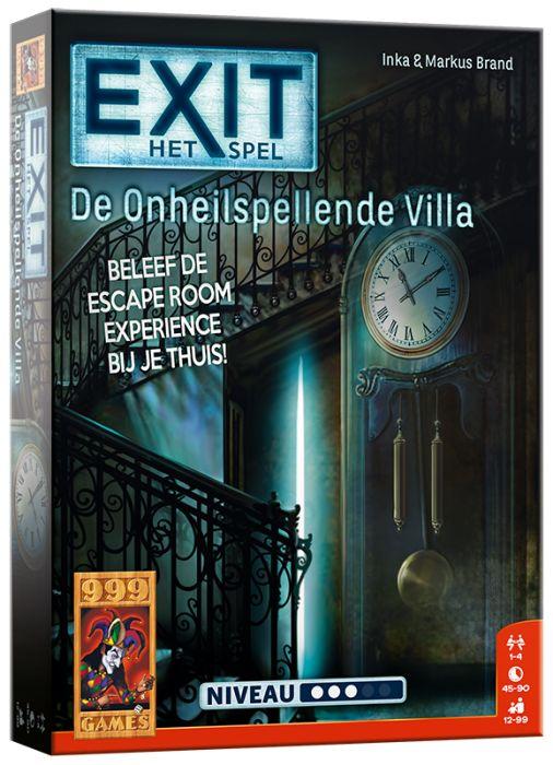 999 Games EXIT - De Onheilspellende Villa