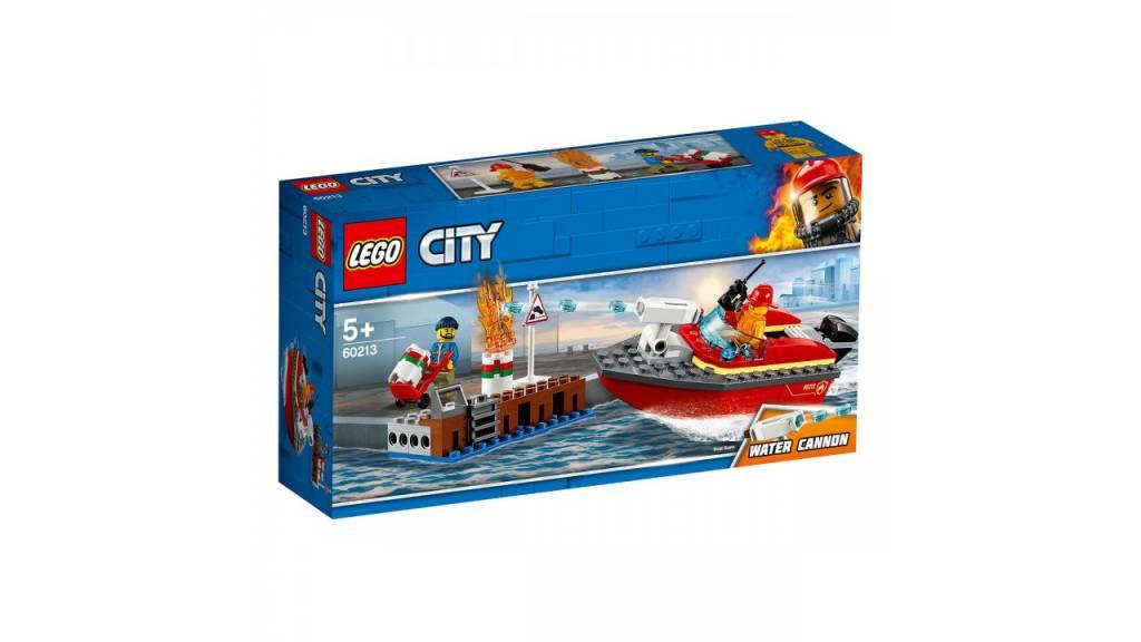 Lego LEGO City Brand aan de kade