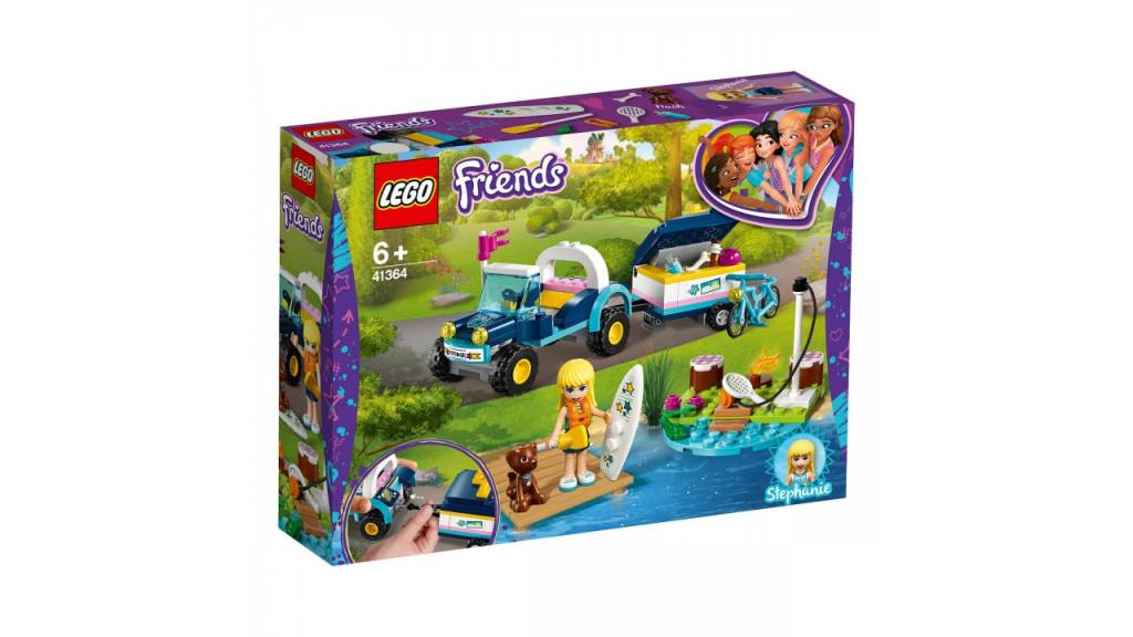 Lego LEGO Friends Stephanie AND apos;s buggy en aanhanger