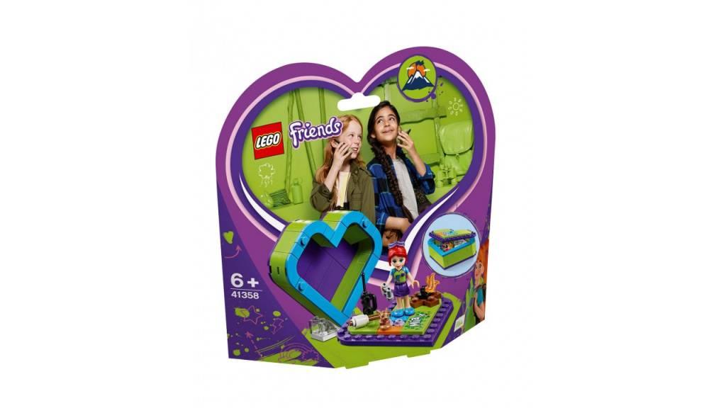 Lego LEGO Friends Mia AND apos;s hartvormige doos