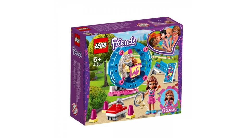 Lego LEGO Friends Olivia AND apos;s hamsterspeelplaats