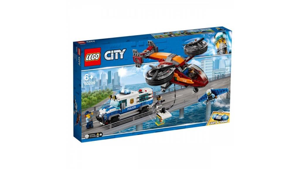 Lego LEGO City Luchtpolitie diamantroof