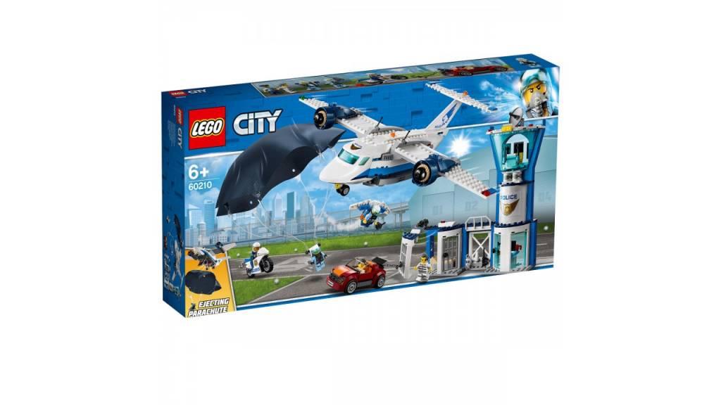 Lego LEGO City Luchtpolitie luchtmachtbasis