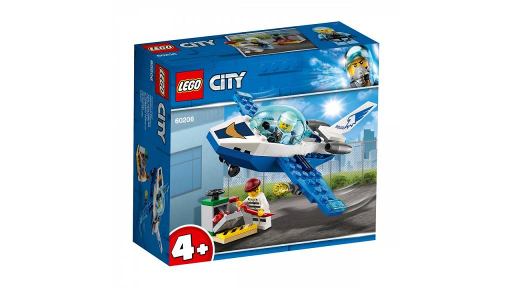 Lego LEGO City Luchtpolitie vliegtuigpatrouille