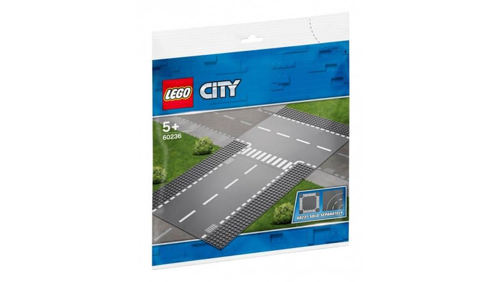 Lego LEGO City Rechte en t-splitings