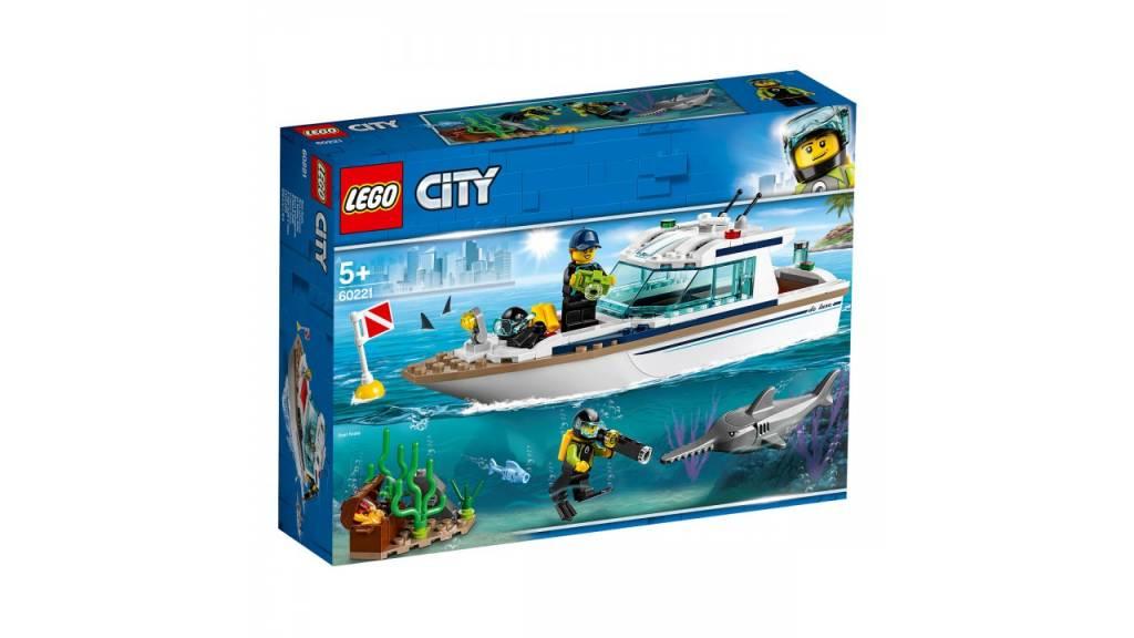 Lego LEGO City Duikjacht