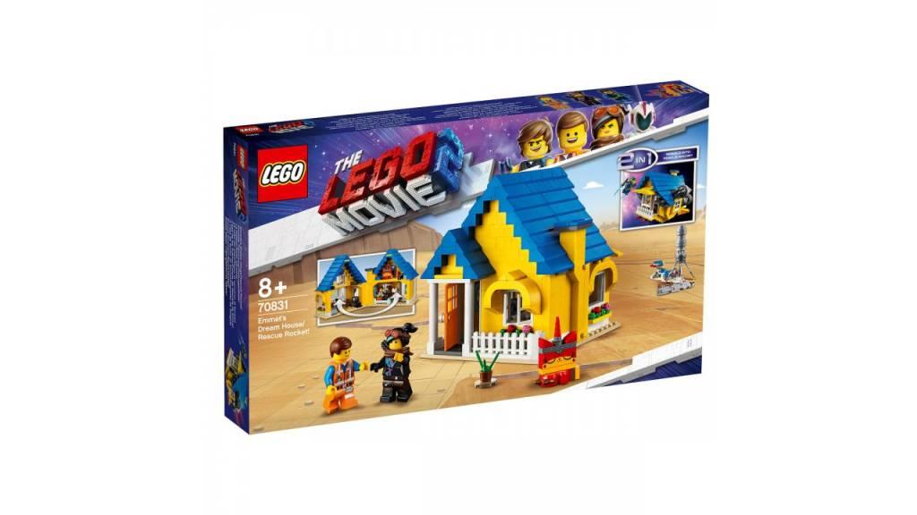 Lego LEGO MOVIE 2 Emmets droomhuis/reddingsraket