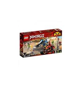 Lego LEGO NINJAGO Zwaardmotor van Kai  AND  Sneeuwscooter van Zane