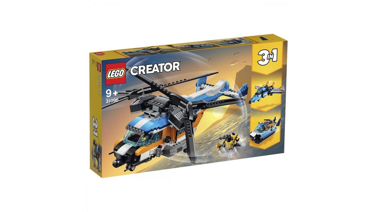 Lego LEGO Creator Dubbel-rotor helikopter