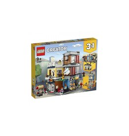 Lego LEGO Creator Woonhuis, dierenwinkel  AND  café