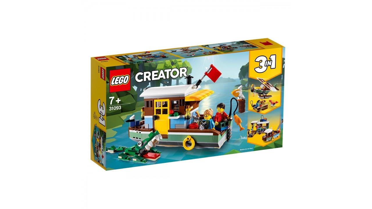 Lego LEGO Creator Woonboot aan de rivier