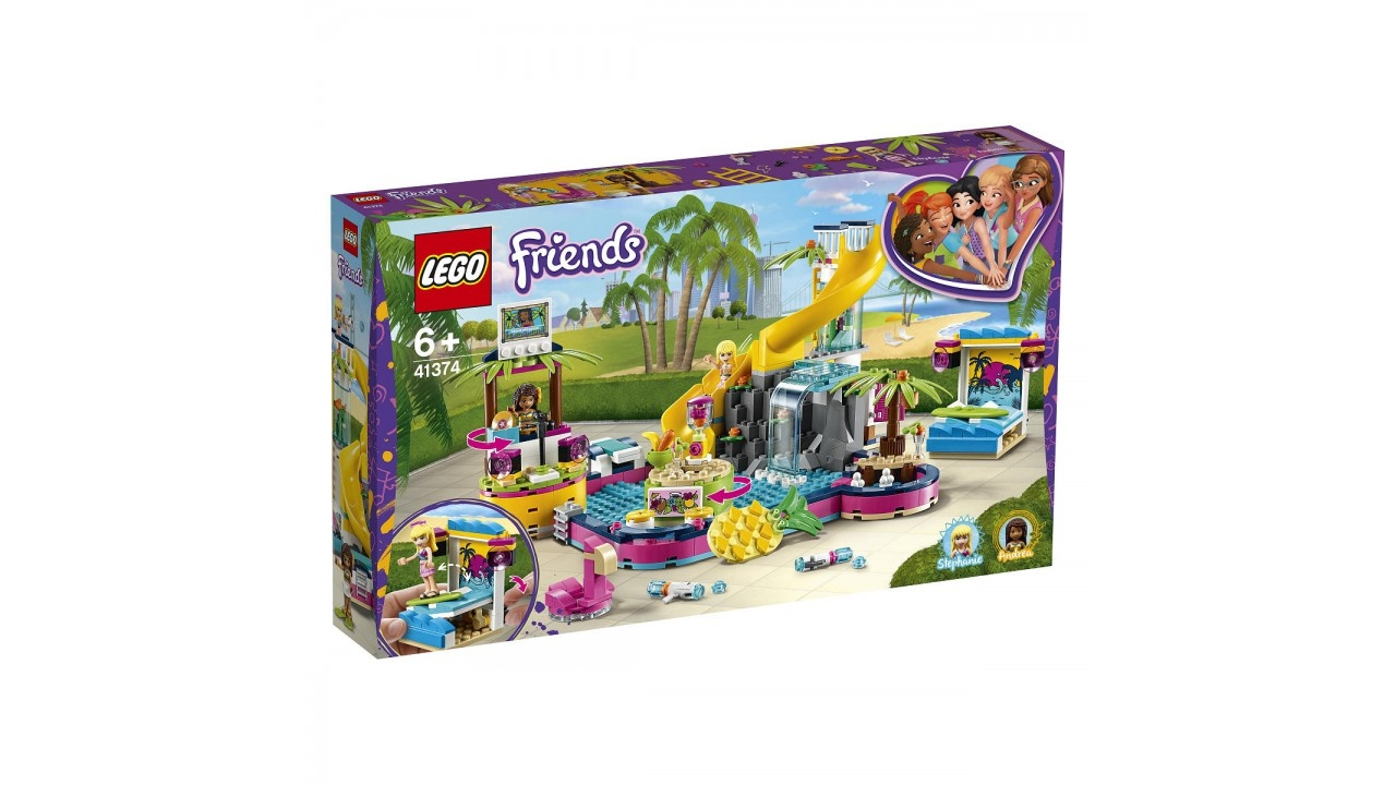 Lego LEGO Friends Andrea AND apos;s zwembadfeest