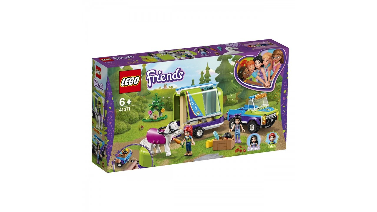 Lego LEGO Friends Mia AND apos;s paardentrailer