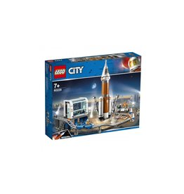 Lego LEGO City Space Port Ruimteraket en vluchtleiding