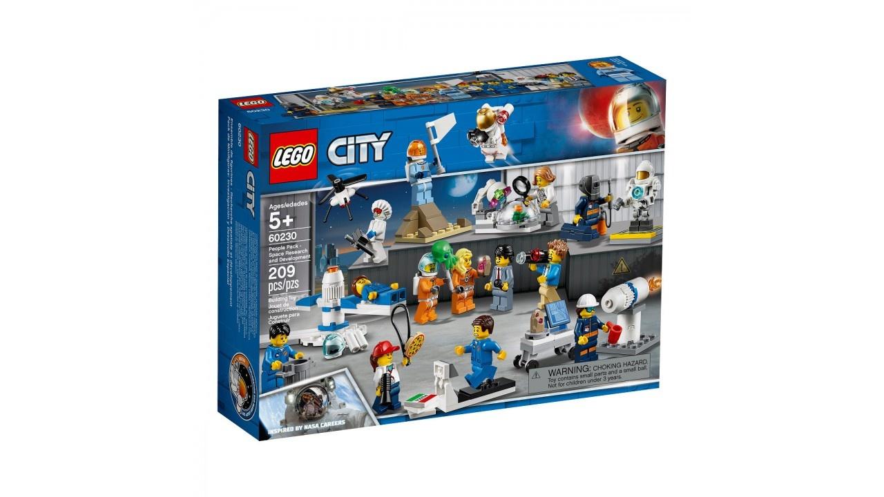 LEGO City Space Port Personenset - ruimteonderzoek