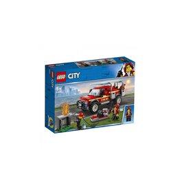 Lego LEGO City Reddingswagen van brandweercommandant