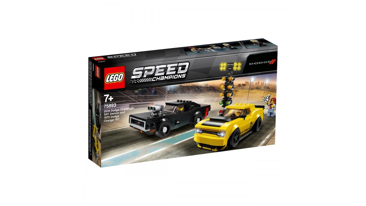Lego LEGO Speed Champions 2018 Dodge Challenger SRT Demon en 1970