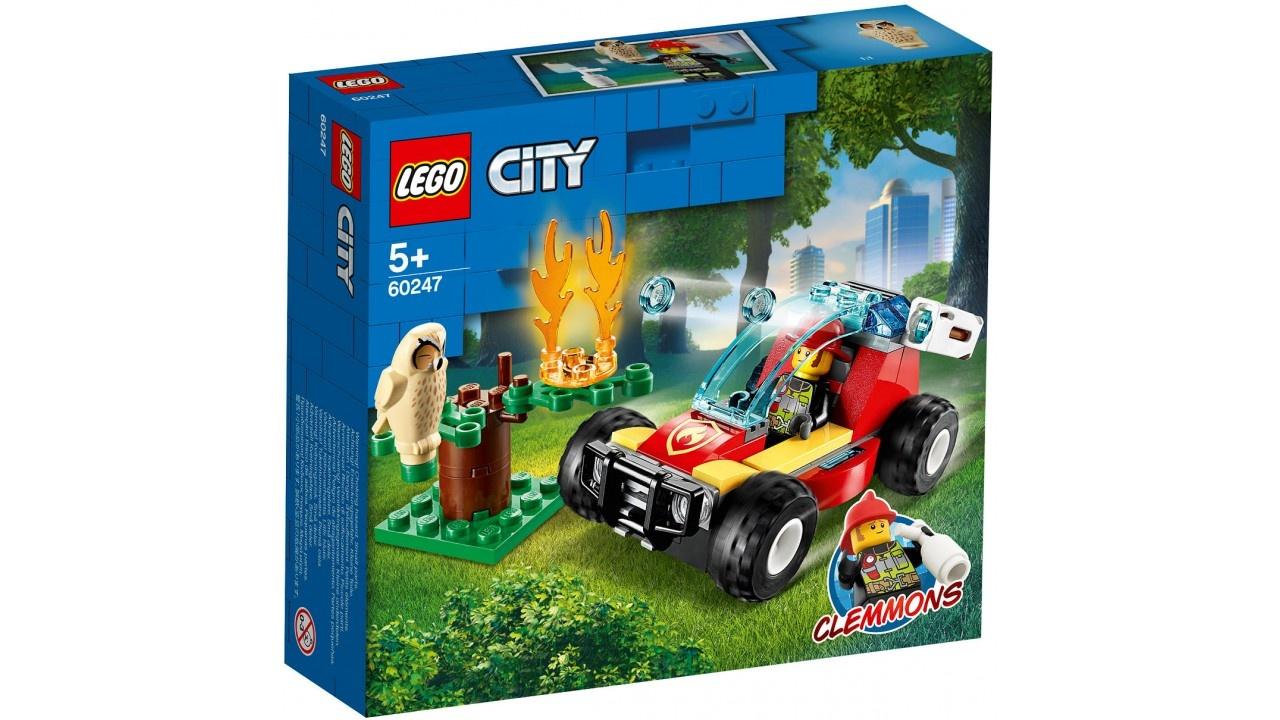 Lego LEGO City Brandweer Bosbrand