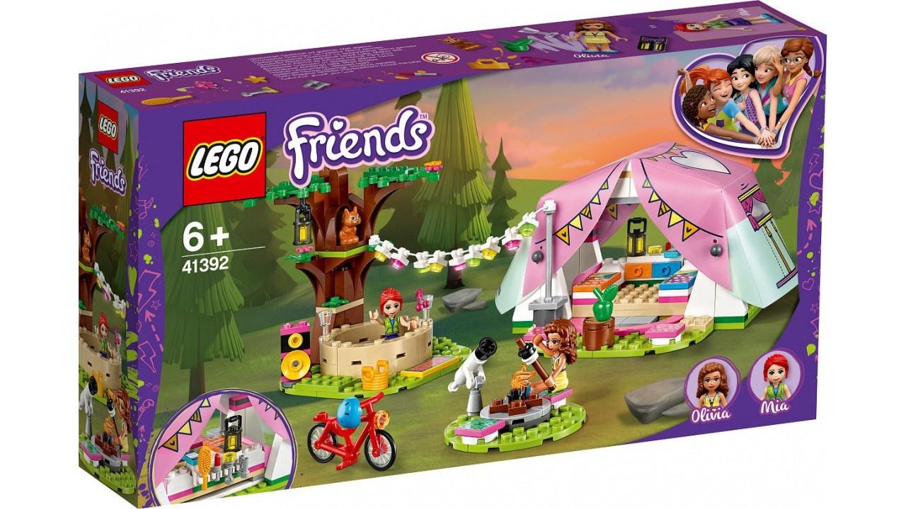 LEGO Friends Glamping in de natuur