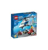 Lego LEGO City Politie Politiehelikopter achtervolging