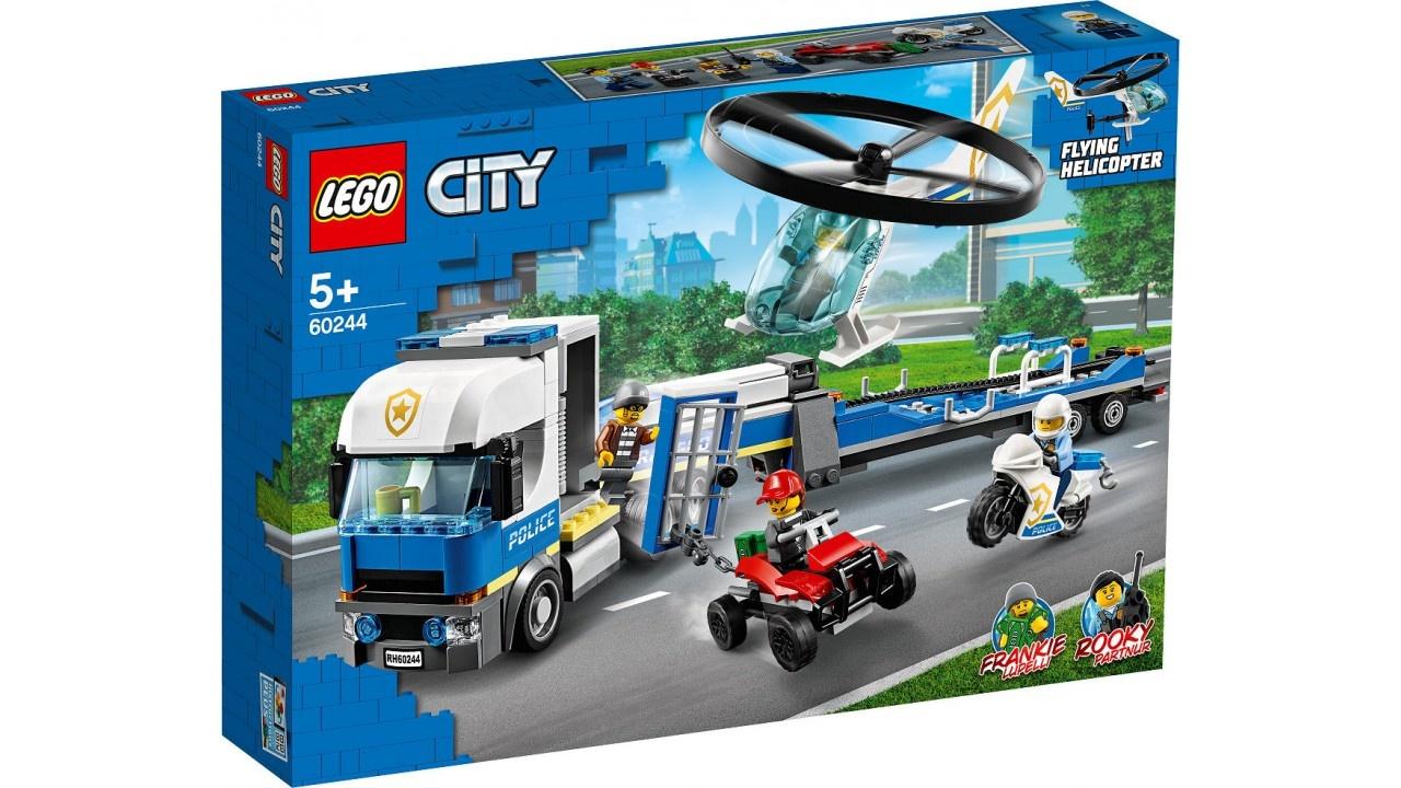 Lego LEGO City Politie Helikoptertransport