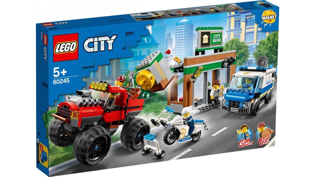 Lego LEGO City Politie Politiemonstertruck overval