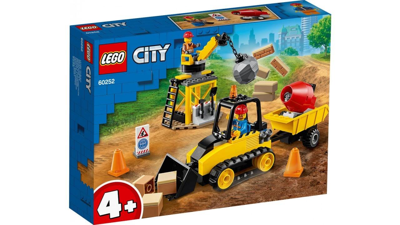 Lego LEGO City Voertuigen Constructiebulldozer