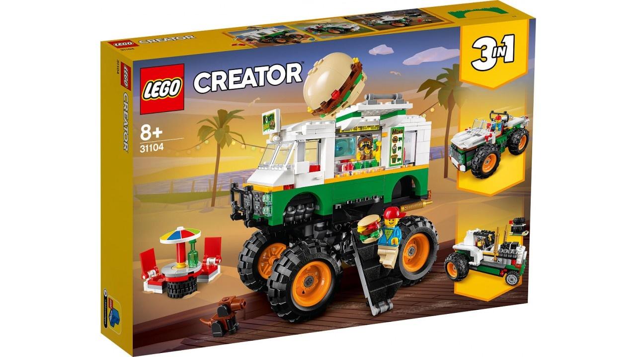 LEGO CREATOR Hamburger Monstertruck