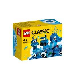 Lego LEGO Classic Creatieve blauwe stenen