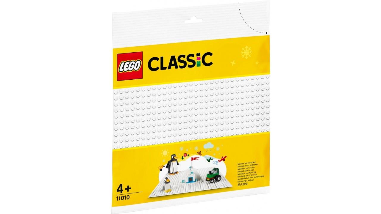 LEGO Classic Witte bouwplaat