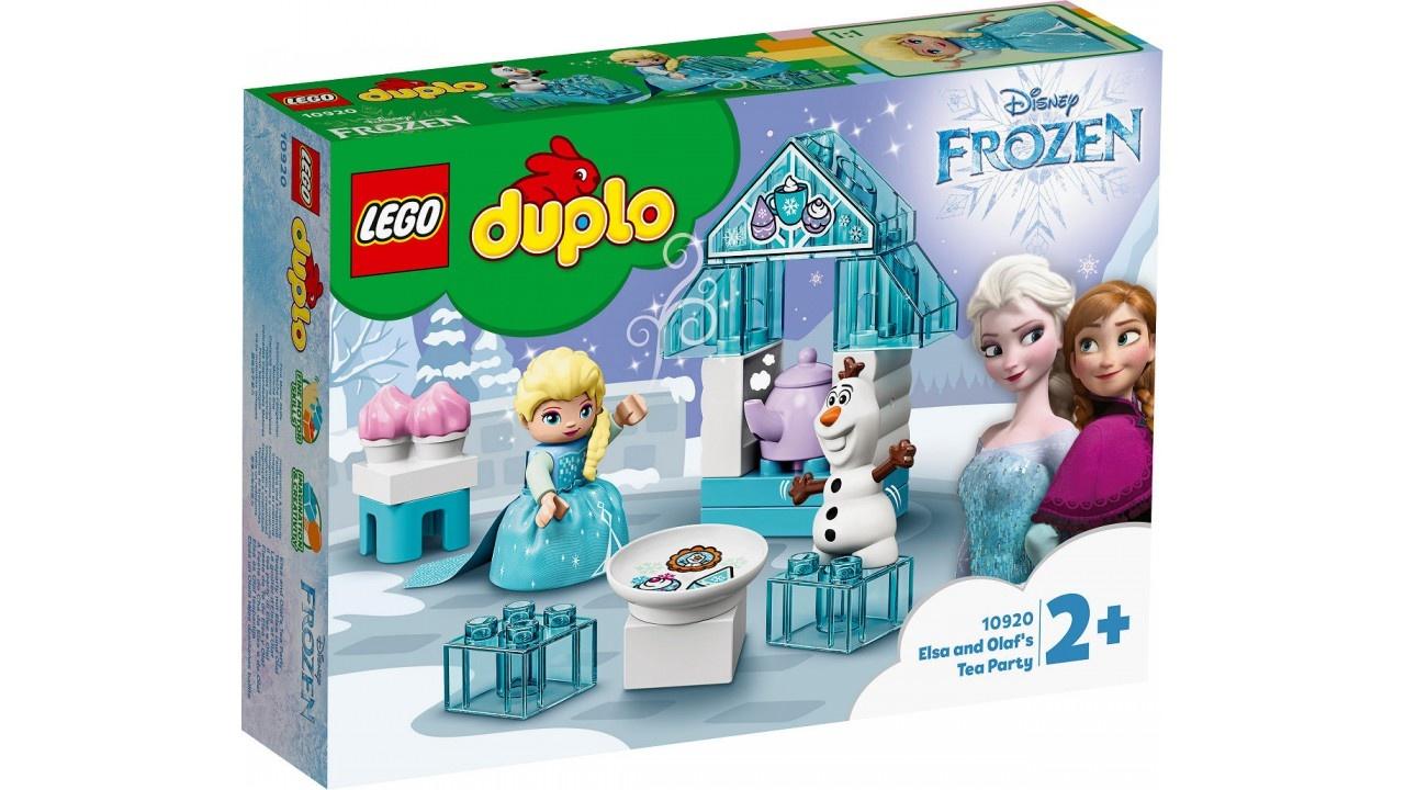 Lego DUPLO Princess Elsa AND apos;s en Olaf AND apos;s ijsfeest