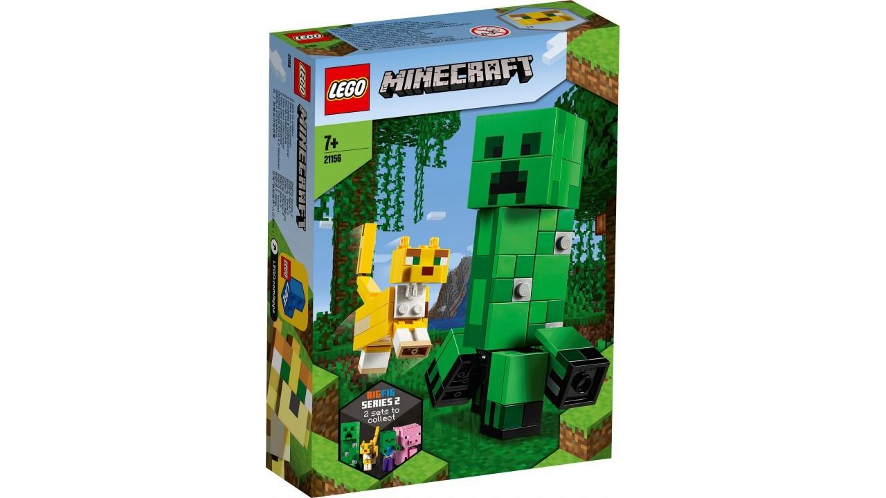 Lego LEGO Minecraft BigFig Creeper en Ocelot