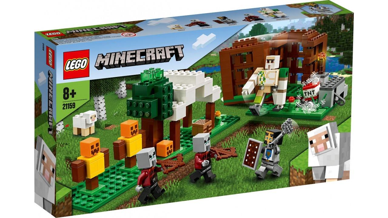 Lego LEGO Minecraft De Pillager buitenpost
