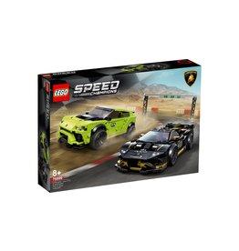 Lego LEGO Speed Champions Lamborghini Urus ST-X  AND  Huracan Super