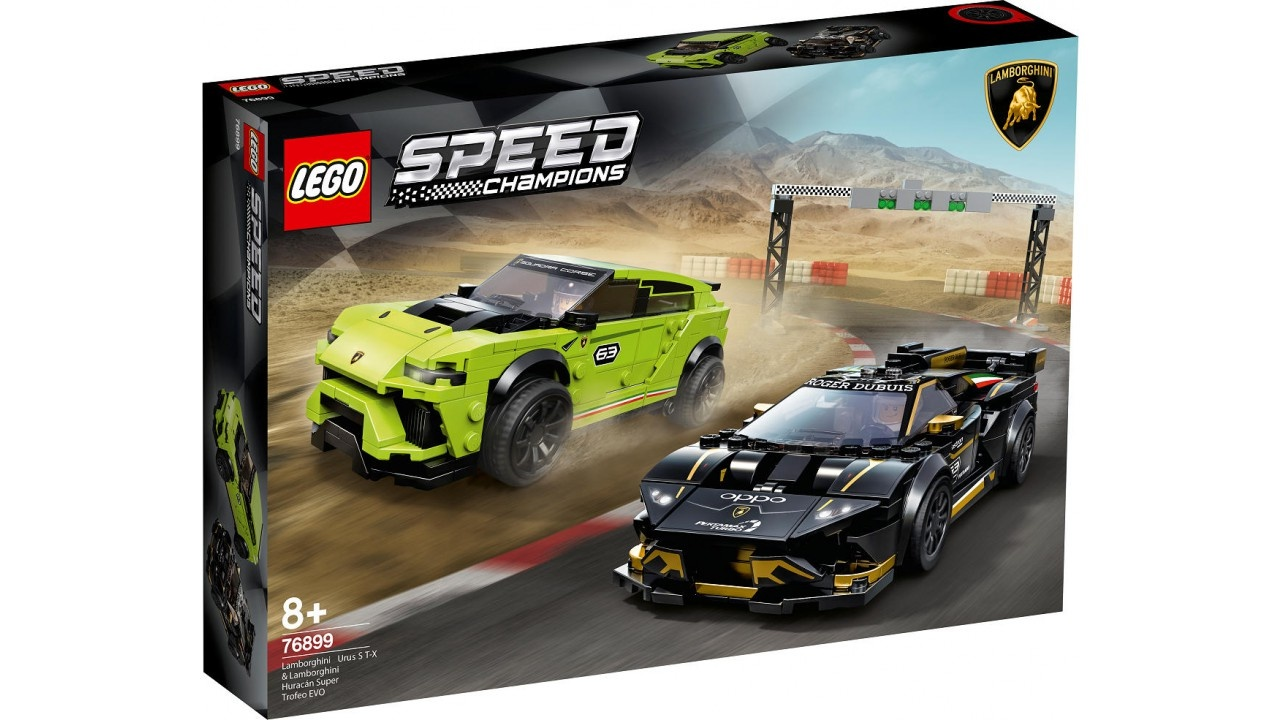 Lego LEGO Speed Champions Lamborghini Urus ST-X  AND  Huracan Super