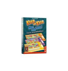 999 Games Keer op Keer Scoreblok 3 stuks Level 2, 3 en 4
