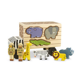 Melissa & Doug 15180, Safari Dieren Reddingsauto