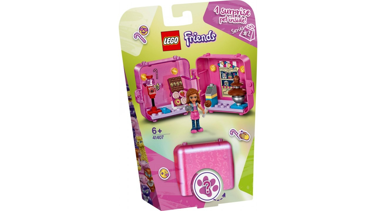 Lego LEGO Friends Olivia AND apos;s winkelspeelkubus